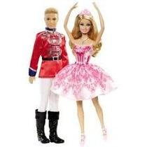 Boneca Bailarina Q. Nozes E Principe Mattel! Frete Grátis!!!
