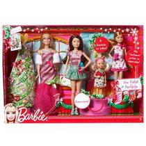 Barbie Um Natal Perfeito Palco Das 4 Irmãs - Mattel