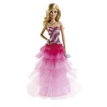 Boneca Barbie Vestidos Longos Festa Brinquedo Menina Mattel