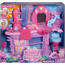 Barbie Salão De Beleza Da Sereia Das Pérolas - Mattel Bhm95