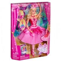Boneca Barbie Bailarina E As Sapatilhas Mágicas Original