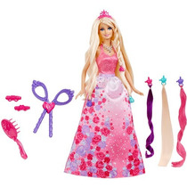Boneca Barbie Princesa Penteado Mágico - Mattel