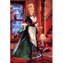 Barbie Victorian Holiday And Kelly Natal Collector Doll Set