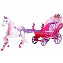 Carruagem Barbie A Princesa E A Pop Star.