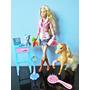 Boneca Barbie Quero Ser Veterinária Cavalo Acessório Mattel