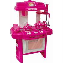 Barbie Conjunto De Cozinha Divertida Portátil Fun - Infantil