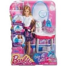 Barbie Family Cao Banho De Cores