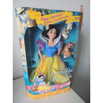 Barbie Snow White - Branca De Neve - Disney - Mattel - Novo