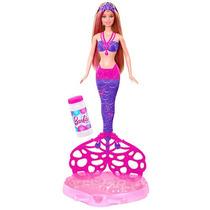 Barbie Fairy Sereia Bolhas Magicas - Mattel