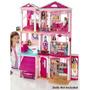 Barbie Real Nova Casa Dos Sonhos C/ 70 Acess. - Mattel !!!