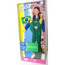 Boneca Barbie Atleta Sydney 2000 Brasil 1999 Mattel 25980