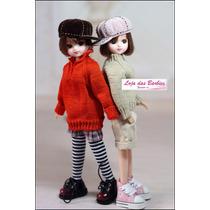 Boné Para Bonecas Barbie * Monster * Ken * Susi / Chapéu