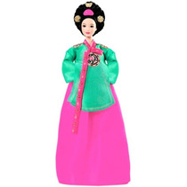 Boneca Barbie Princess Of The Korea Court Mattel B5870