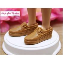 Sapato Para Boneco Ken ( Barbie ) * Sapatinho
