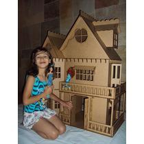 Casa De Boneca - Casinha De Bonecas - Barbie Princesas