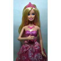 Barbie A Princesa E A Pop Star Rosa Boneca Que Canta