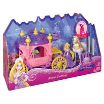 Princesas Disney - Mini Carruagem Rapunzel