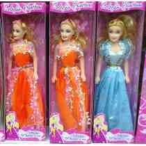 Boneca Similar A Barbie - Coleção Princesa - Brinde