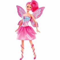 Boneca Barbie Butterfly E A Princesa Fairy Rosa - Borboleta