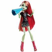 Boneca Monster High Torcida Vênus Mcflytrap - Original