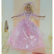 Vestido Vestidinhos Boneca Barbie Luxo Festa Casamento