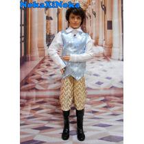 Roupa + Bota Para Boneco Ken * Principe Disney ( Barbie )