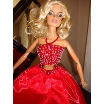 Vestido Em 2 Peças Para Barbie / Fashion Royalty