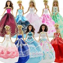 Vestidinho Barbie Novo! Com Acessórios Grátis!
