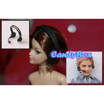 Incrível ! Microfone P/ Barbie - Estilo Cantora Rock - Ken