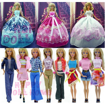 Promoção ! Roupinha E Vestido Para Barbie !! Novo