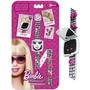 Relógio Digital Barbie Pulseira Divertida - Fun