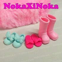 Kit Com 3 Pares De Sapatos Para Boneca Chelsea ( Barbie )