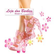 Sapato De Luxo Para Boneca Barbie * Sapatinho Mattel