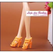 Sapatinho De Luxo Para Boneca Barbie * Sapato Mattel