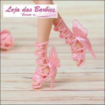Sapato De Luxo P/ Barbie * Segredo Das Fadas * Sapatinho