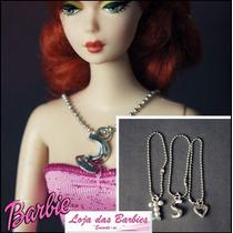 Corrente Para Boneca Barbie * Jóia * Colar Fr Blythe Monster