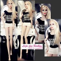 Roupinha P/ Boneca Barbie Fr * Moda Crochê * Original Mattel