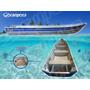 Barco Aluminio Borda Alta 6m Br Tibagi Garantia 5 Anos