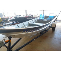 Conj.barco Tupi 600 Super + Carreta Angola + Motor Yamaha 25