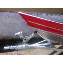 Barco 5m + Carreta Nova C/ Motor Novo 15 Yamaha