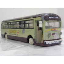 Miniatura Onibus Classico Antigo Ferro Brinquedo* Beta