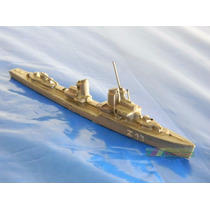 N18 Navio 2ª Guerra Destroyer Escala 1:1250