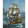 Modelo Boat - Revell 1:225 Hms Victory Navio Kit Set