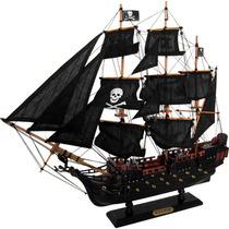 Fragata Black Pearl - Pérola Negra - Grande - Madeira