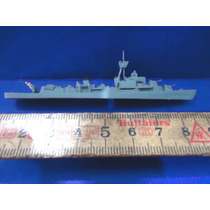 Brq - Navio De Guerra - Made Germany Metal Anos 50 - 8,5 Cm