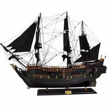 Navio Barco Fragata Pirata Caravela Perola Negra 120cm