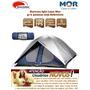 Barraca P Camping 8 Pessoas Iglu Luna Mor 3.50 X 3.50 X 1.80