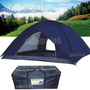 Barraca De Camping 10 Pessoas Montana Gigante 4x4x2 + Brinde