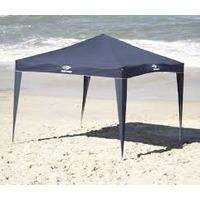 Tenda/barraca De Praia 3 X 3 Camping Azul /branca