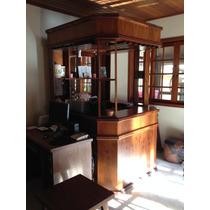 Bar Madeira Imbúia Comprado Na Loja Rustik Em Ótimo Estado